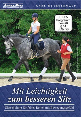 Anke Recktenwald: Mit Leichtigkeit zum besseren Sitz/Riding with Balance and Grace(D/E/I) DVD